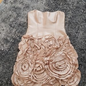 Molly strapless formal dress